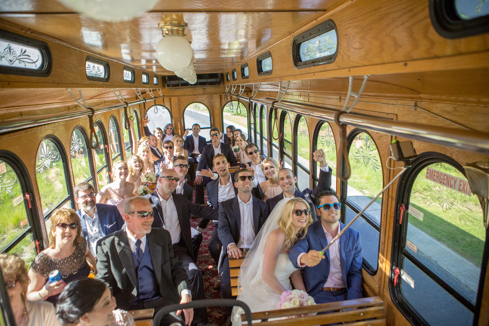 The Black Stallion Wedding - Trolley