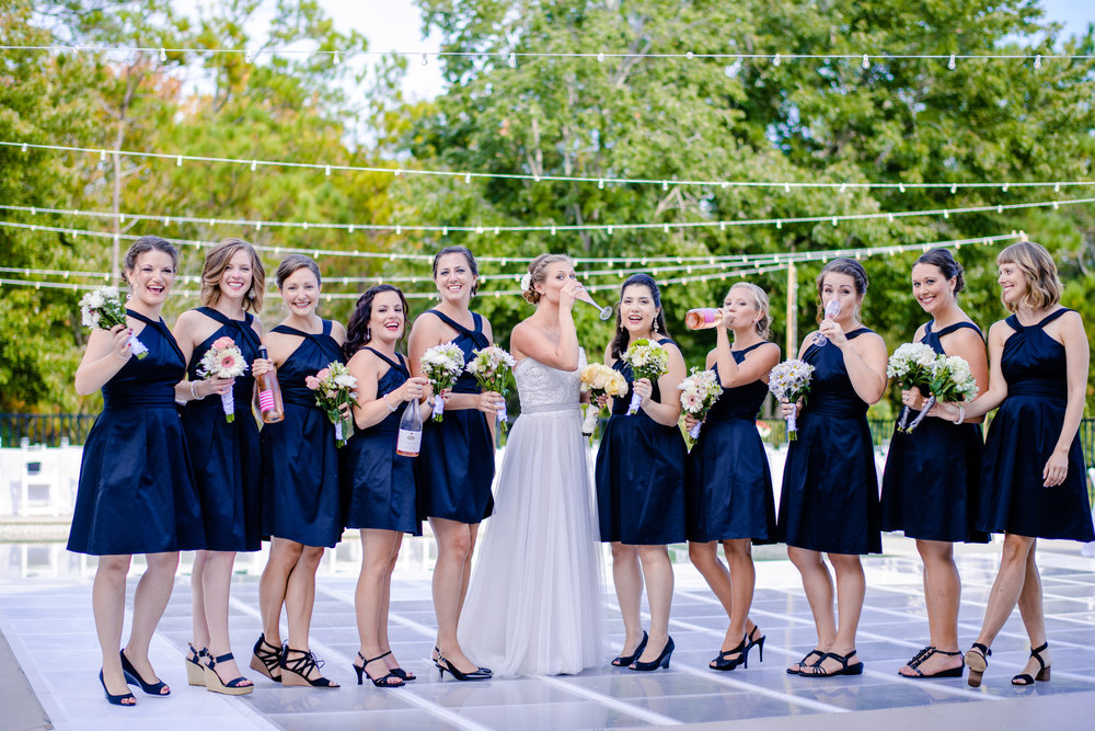 The Black Stallion Wedding - Bridesmaids