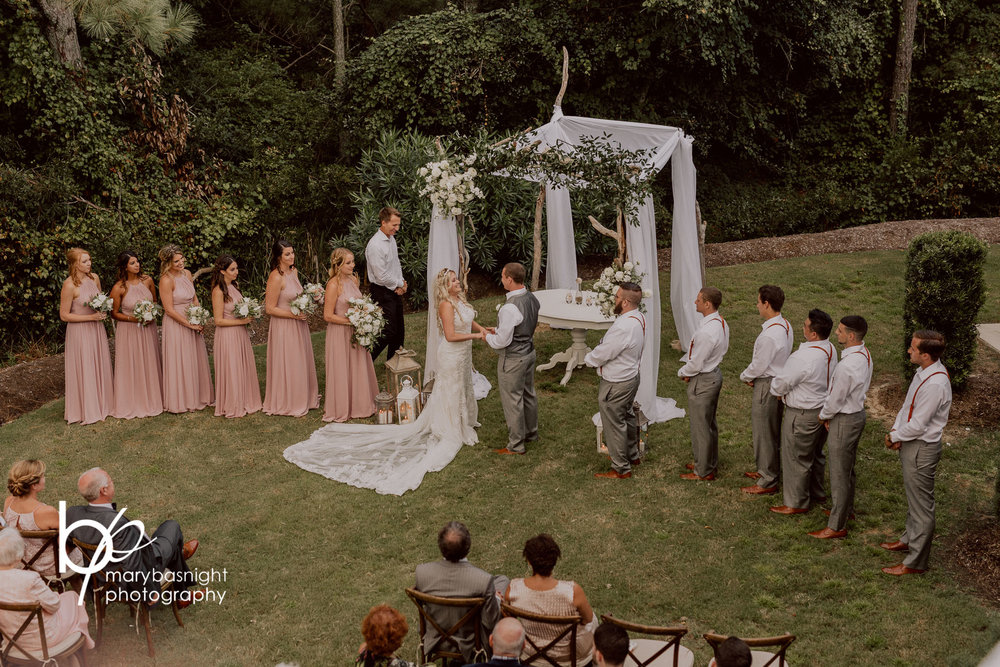 The Black Stallion - Backyard Ceremony