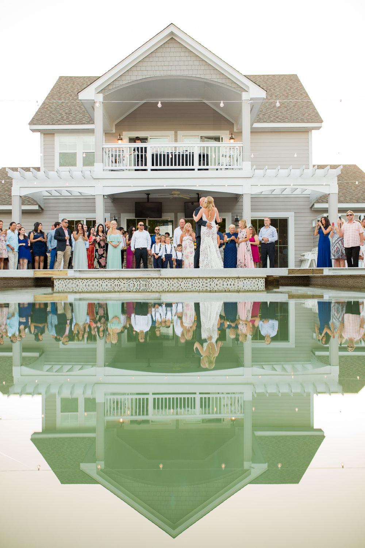 The Black Stallion Poolside Wedding Reception