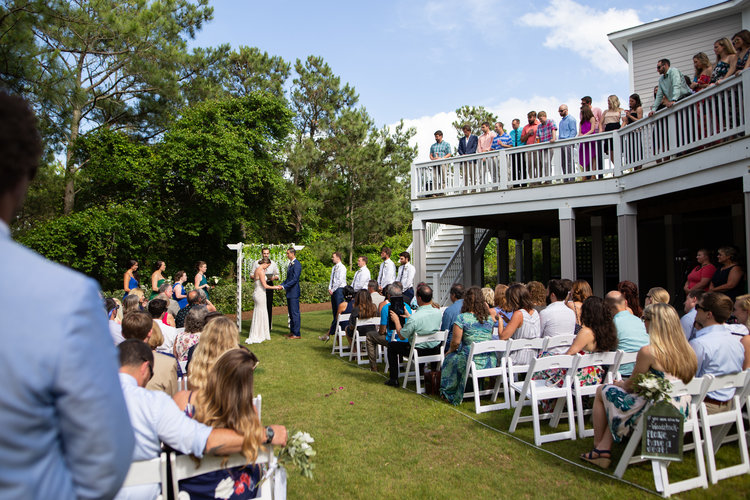 2563ea20167 Real Weddings — The Black Stallion - Top Rated Outer Banks Venue