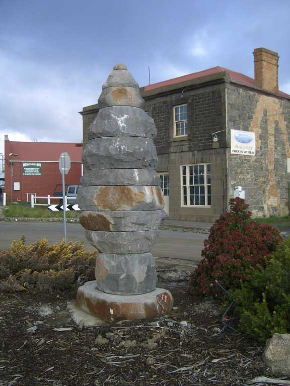 Hasell ' Stone Tree' Kyneton streetscape project 2007
