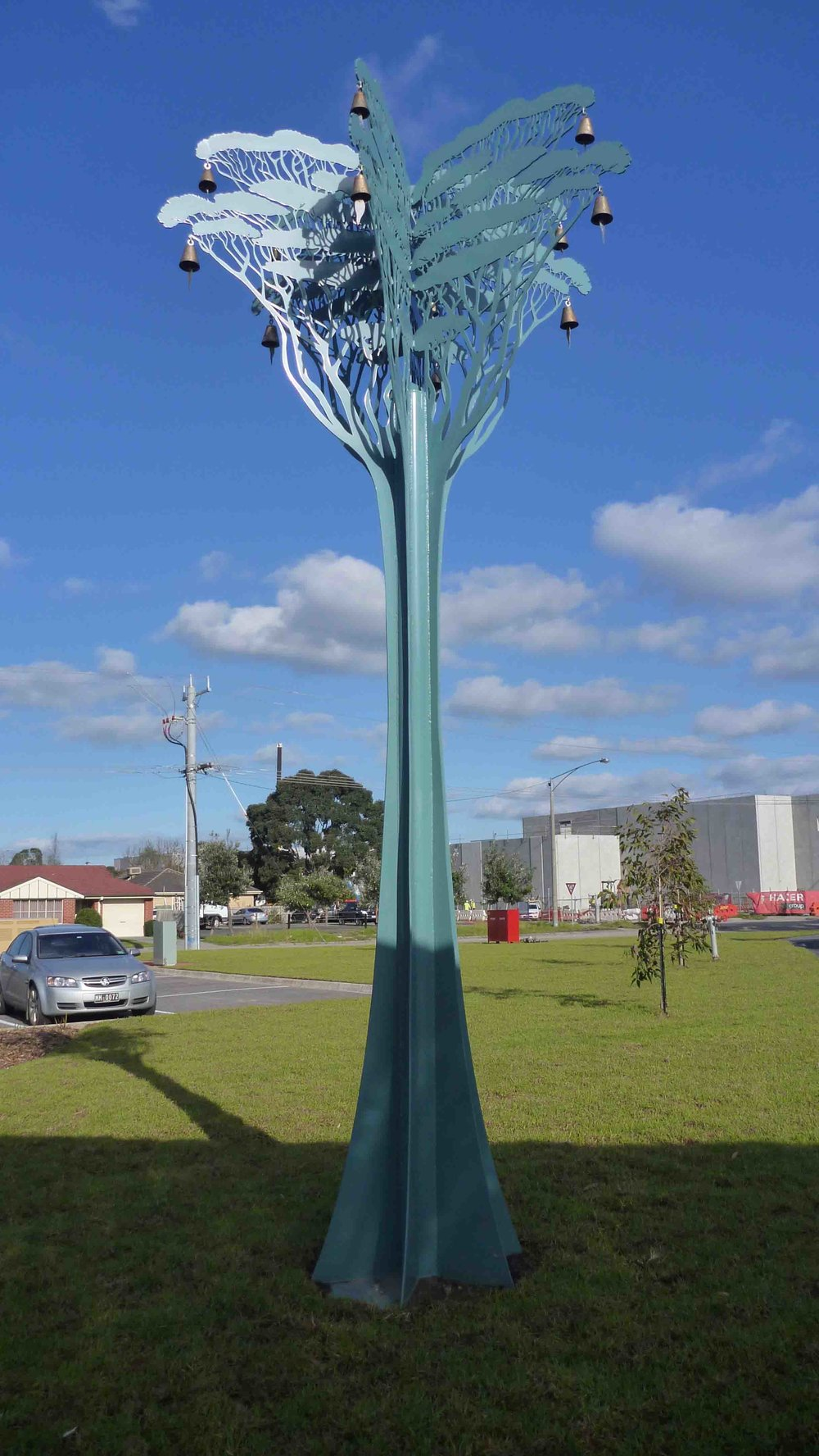 Hasell 'Federation bell tree' Pakenham Library, 2011