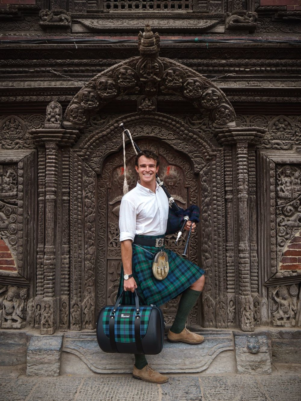 Adventures in Nepal - Ross OC Jennings takes the PiperChief on his journey piping around the world...
