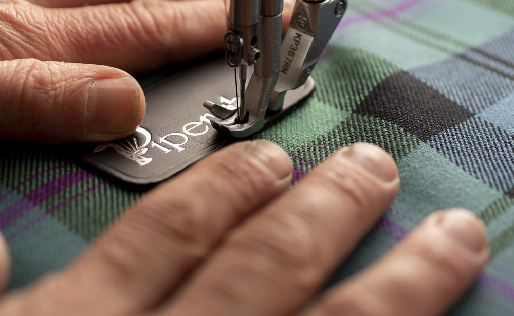 Handcrafted with Care - Our cases are handcrafted with Scottish Leather, worked, stitched and finished by hand by expert craftsmen near Edinburgh.