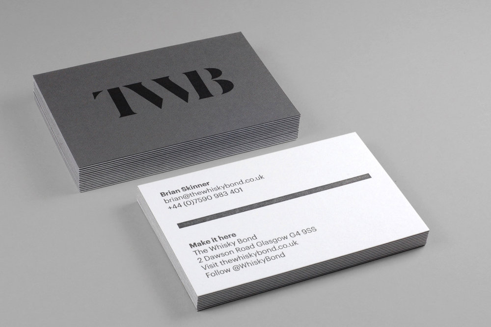 The Whisky Bond Stationery