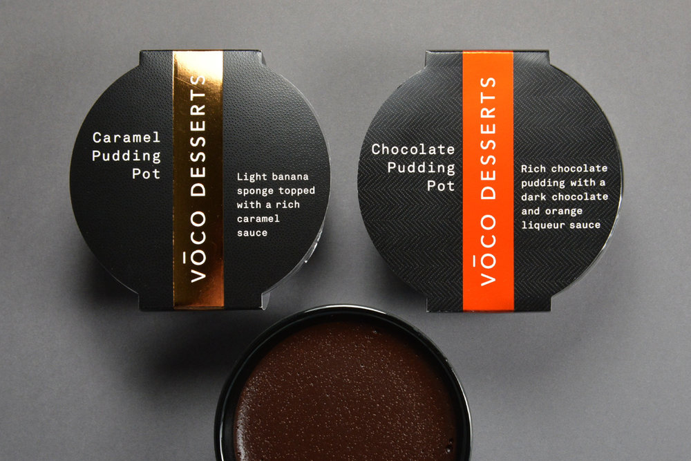 Voco Desserts Branding and Packaging