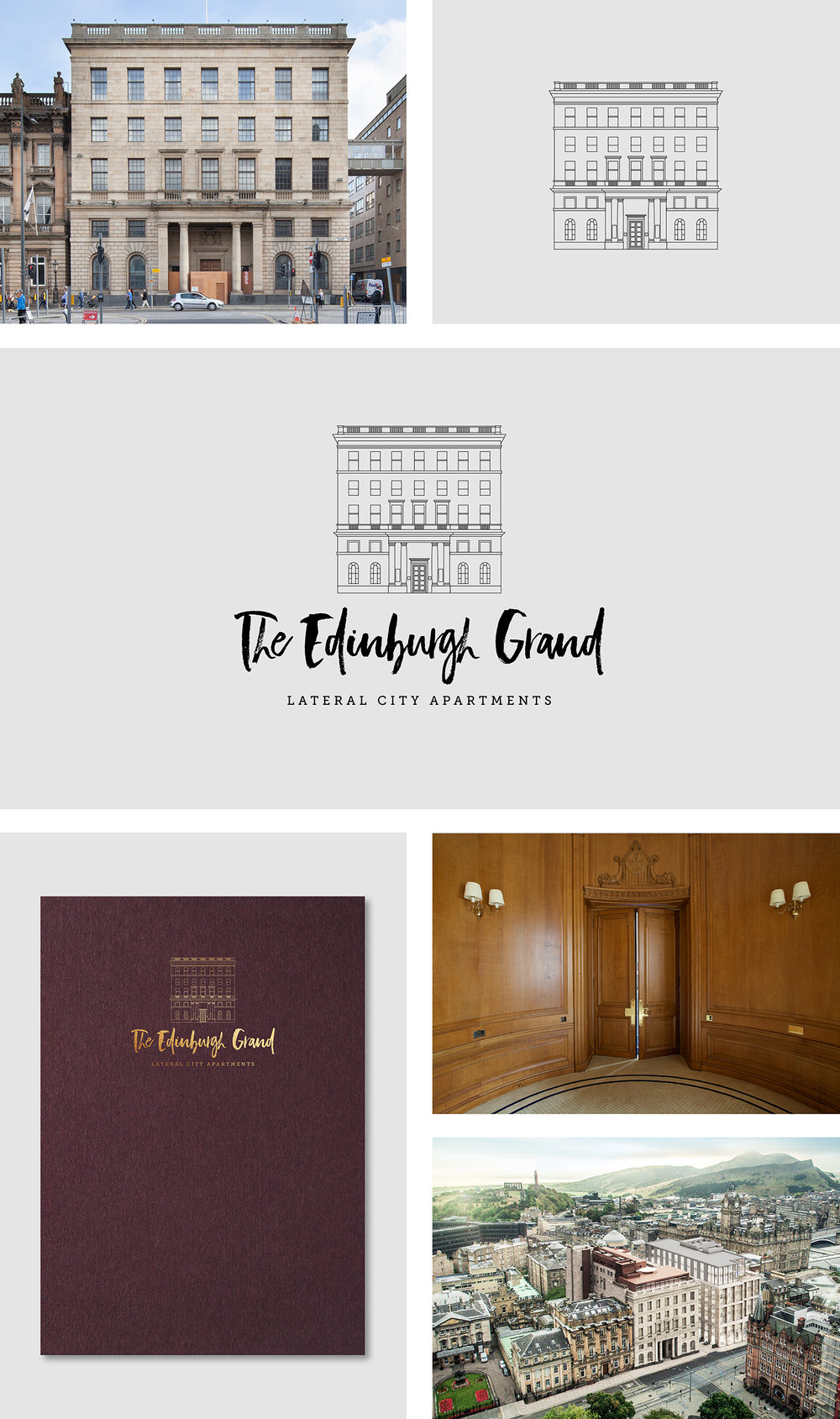 The Edinburgh Grand Branding for Lateral City