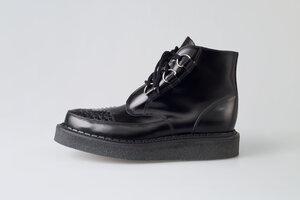 Black D ring Creeper Boot. 9599e1d9e
