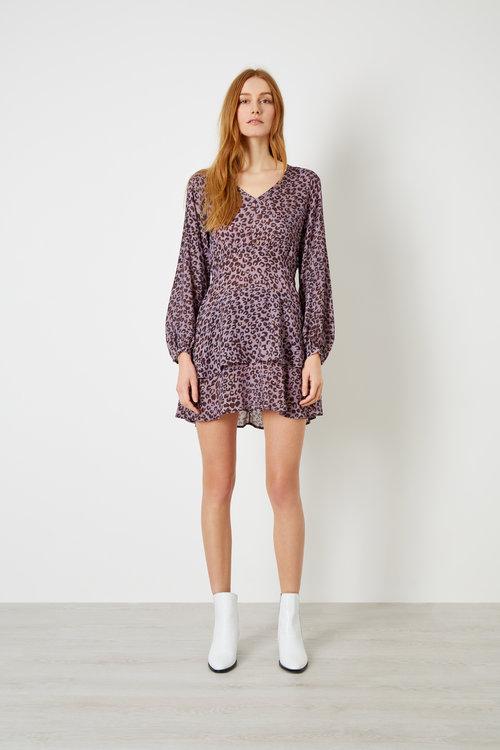 Women s Animal Print Dress — IDEN Denim  6ad713c927