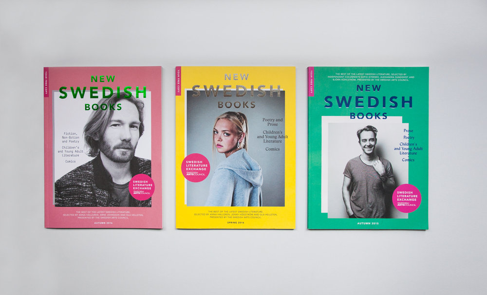 New Swedish Books 15-16