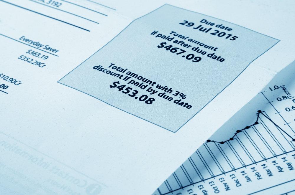 Utility Bill Processing -