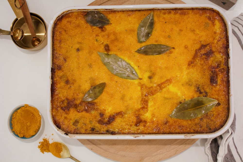 Traditional South African Bobotie (recipe to follow soon)