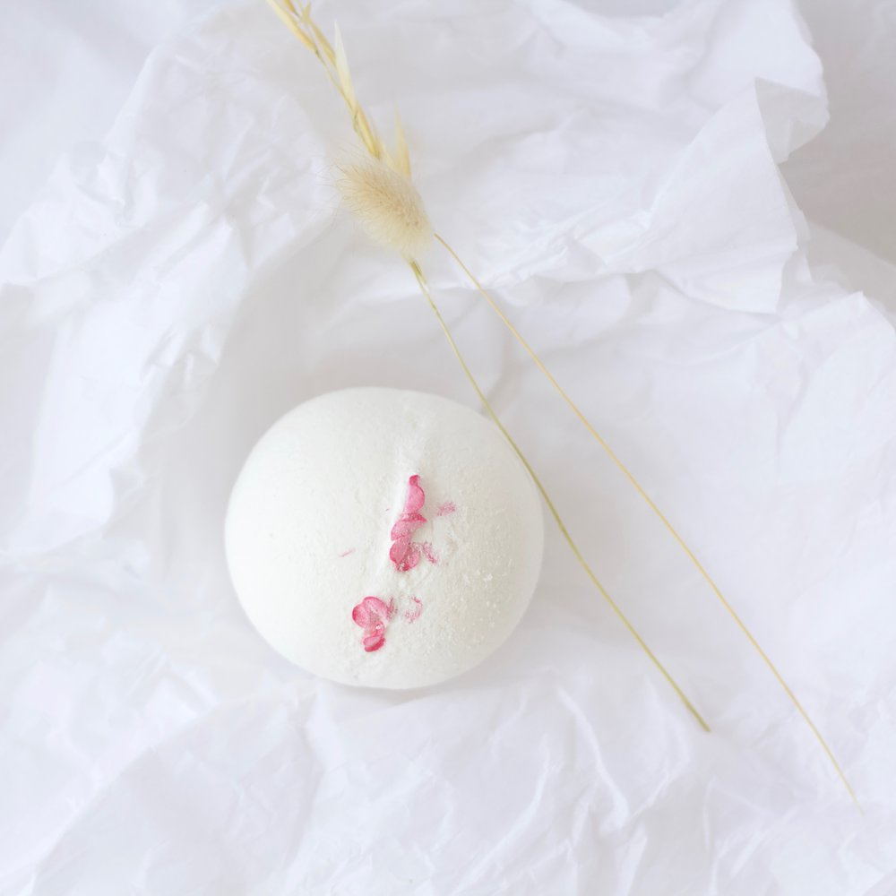 3. Fizz bath ball   We held onto this beauty for a while as the scent filled our bathroom with the most welcoming aroma. Guarded specially for a long bath, it eased the body aches and relaxed the mind, perfectly paired with a glass of wine & dreamy novel.