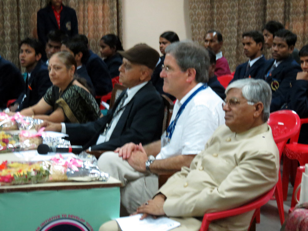 9. you could be the expert doing the judging. our colleague, Professor Richard Ennals judging a  quality circle  presentation in lucknow india  Why not sign up now? contact DHIQC using the contact form on this web site.