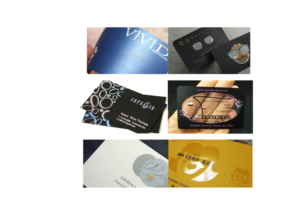 Specialty Business Cards