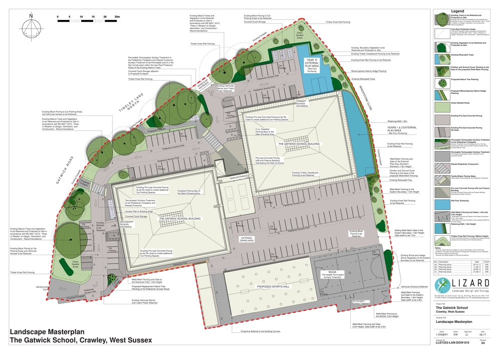 Landscape masterplan - click to open a pdf view