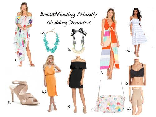 0c7ddf410f75e Breastfeeding Friendly Summer Wedding Dresses — That Girl Britt