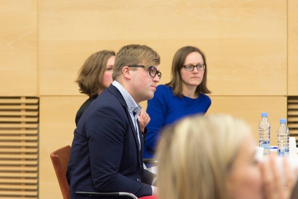 Ekspertu panelis: Kārlis Kravis, Marta Kāle, Madara Ūlande