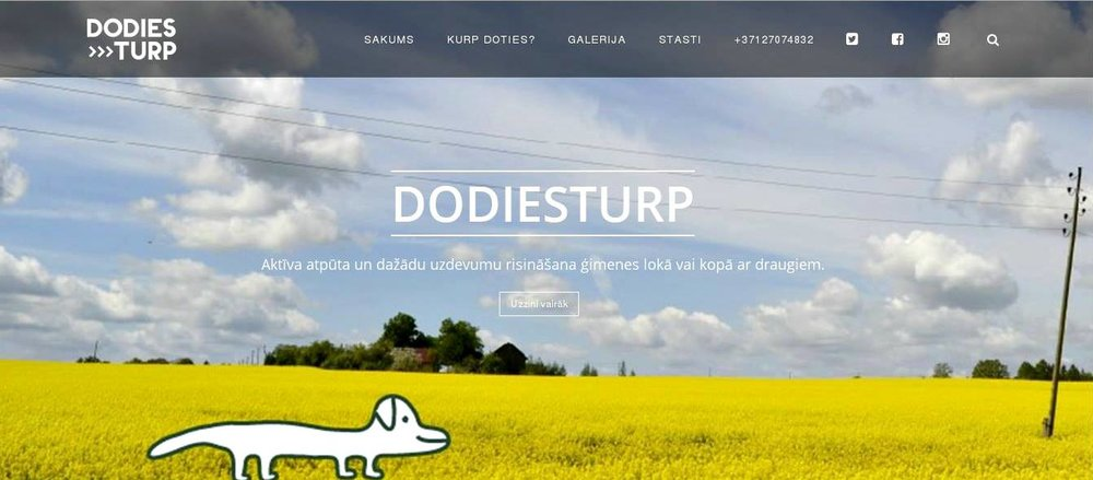 "A SNAPSHOT OF PROJECT DEVELOPMENT - Lately, the hardest part in Anna's project has been to make the big choices that will determine the look and shape of her project, but she tries to keep the project's values in her mind and find the best solution. For now, Anna has developed ""Dodies Turp"" logo, design for route maps and (together with her brother) design of the web page. What is more, she has prepared a database of questions and tasks that will be used in the interactive tourism offers. Next step is to make a fully-developed offer for potential clients."