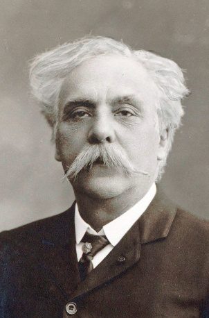Gabriel Fauré (12 May 1845 – 4 November 1924)