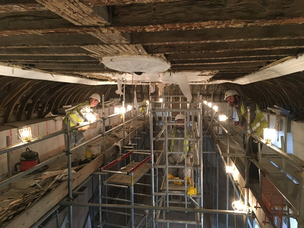 Glynde Place - Phase II - Gallery ceiling upclose.JPG