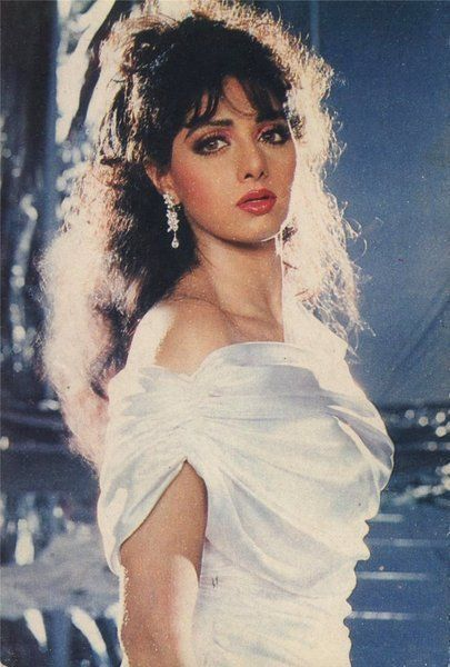 Sridevi in  Chaalbaaz  (1989) via  LightsCameraBollywood.com