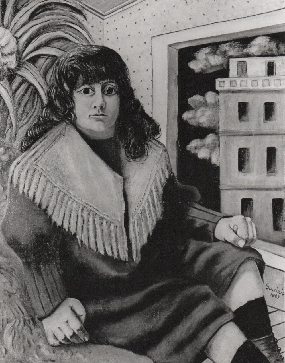 1927, 6, p.32, Autoritratto