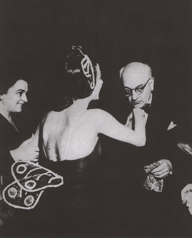 con Tamara Tumanova, Teatro alla Scala, Milano, 1951