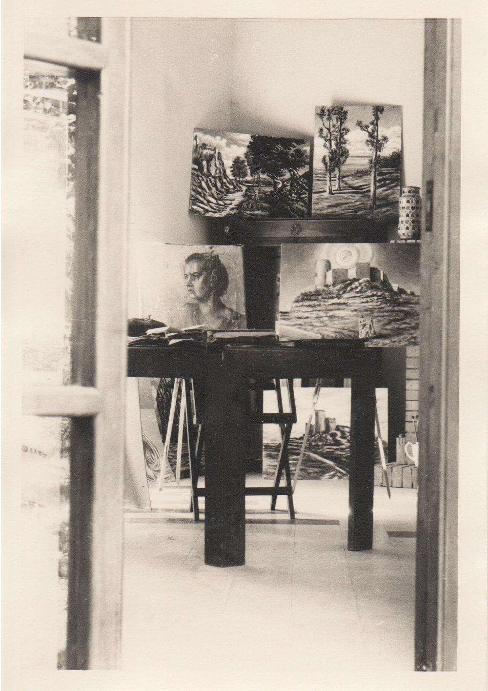 Poveromo, 1949 Studio di Savinio