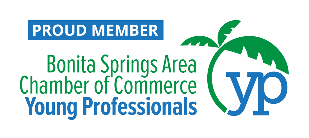 Logo image: Joe the Home Pro is a Proud Member of the Bonita Springs Area Chamber of Commerce Young Professionals.