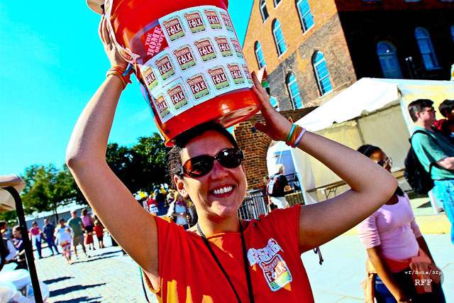 Keep the Festival Free! - Make a drop in the bucket