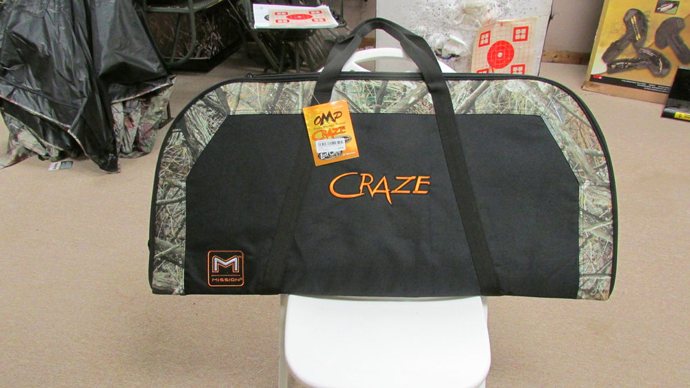 Craze Bow case - OMP Soft Bow case designed for the Mission Craze.$29.99