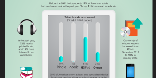Sample of the e-book infographic