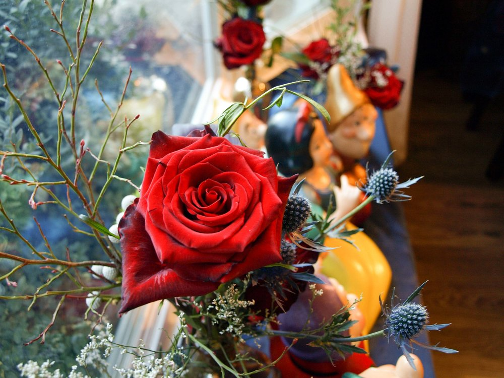 Snow White and the Seven Dwarves Decor and Floral Inspiration - Enchanted Dark Forest - Historia Wedding and Event Planning