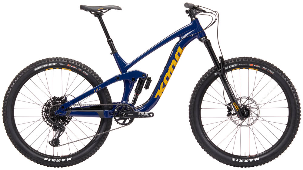 27.5 Wheels with 160mm of travel. We have a strong opinion about this bike: It's badass. That is all.