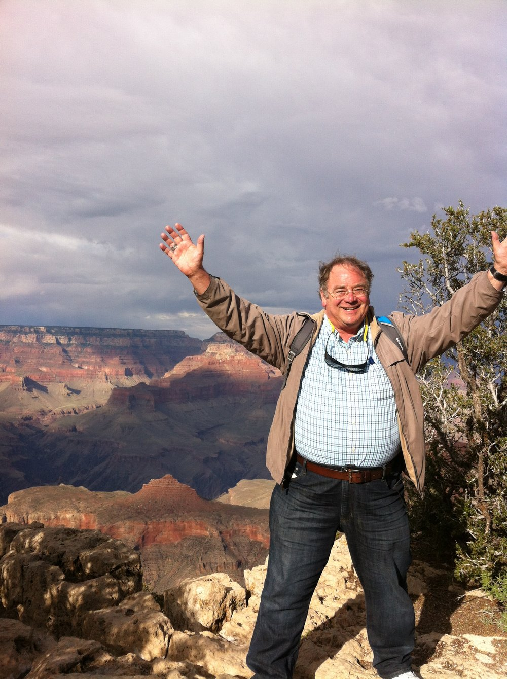 Living life without limits. - I came to Chesterfield physical therapy with unbelievable leg pain. in a relatively short time of therapy, I was able to go on the planned vacation out west, and thrilled to walk along the rim of the grand canyon. i am grateful to chesterfield physical therapy for relieving my pain and allowing me to achieve my goal.                                     -william sprinkle
