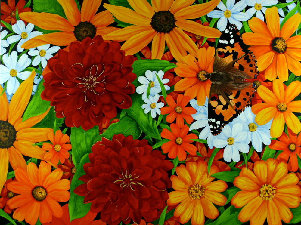 THE NATURE OF FLOWERS, BY SHAREN CHATTERTON