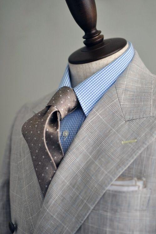 light-grey-suits-bleu-shirt-brown-tie