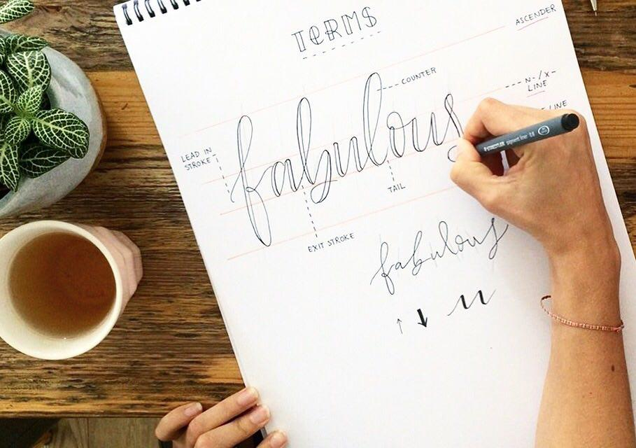 HAND LETTERING -