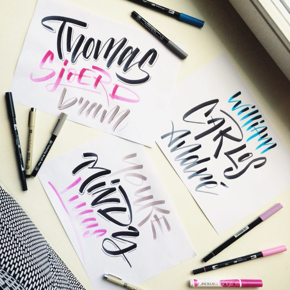 Brush Lettering -
