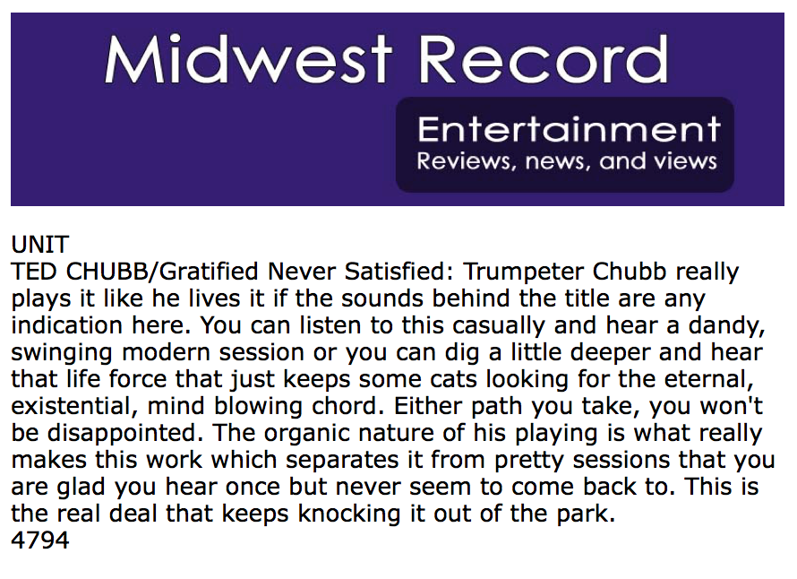 Midwest Record - May 2017