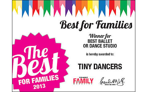Tiny Dancers named best for families 2013.jpg