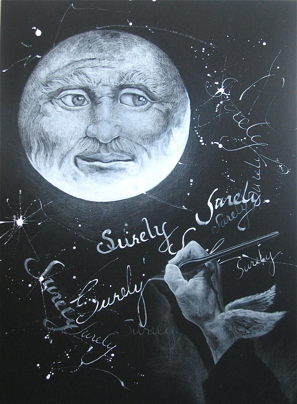 The Moon, Inspired by the band Black Dub, :Surely""