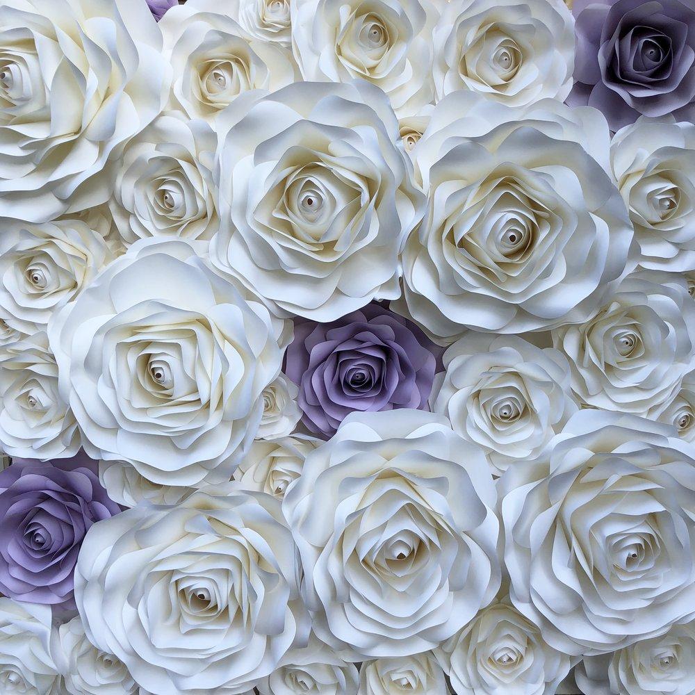 angela  white & lavender