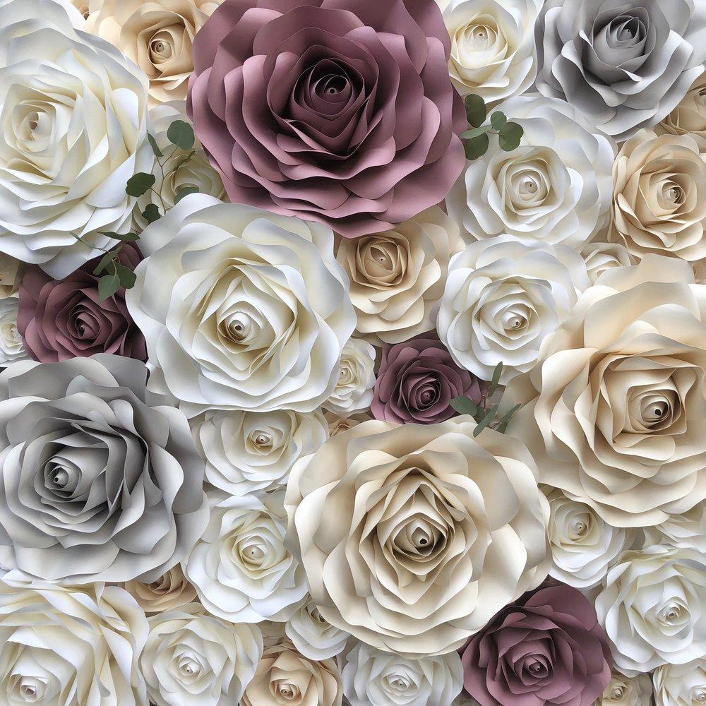 Helena  White, Cream, Gray, Mauve