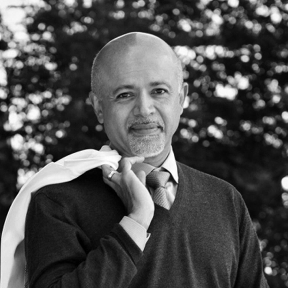 Abraham Verghese, Advisor/Founder  Stanford University  Abraham Verghese, MD is the Linda R. Meier and Joan F. Lane Provostial Professor and Vice Chair for the Theory & Practice of Medicine, Stanford University. He founded the Stanford Medicine 25 and the Stanford Presence Center. He serves on the Advisory Council of SBM.