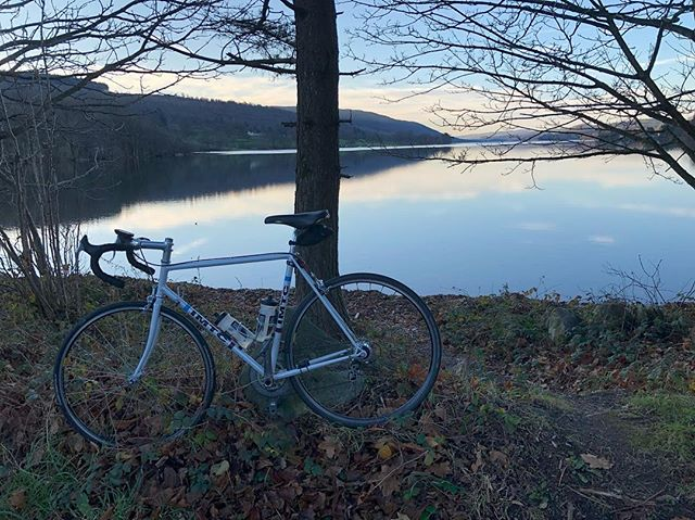 B E A U T I F U L  morning out on the bike doing @epiceventsltd Cumbrian Cracker Sportive 🚵🏼‍♂️🏅💙 #cycling #sportive #training #wintertraining #outdoors #lakedistrict #bike #lakeconiston #cumbriancracker #epicevents #imtccoaching #imtc