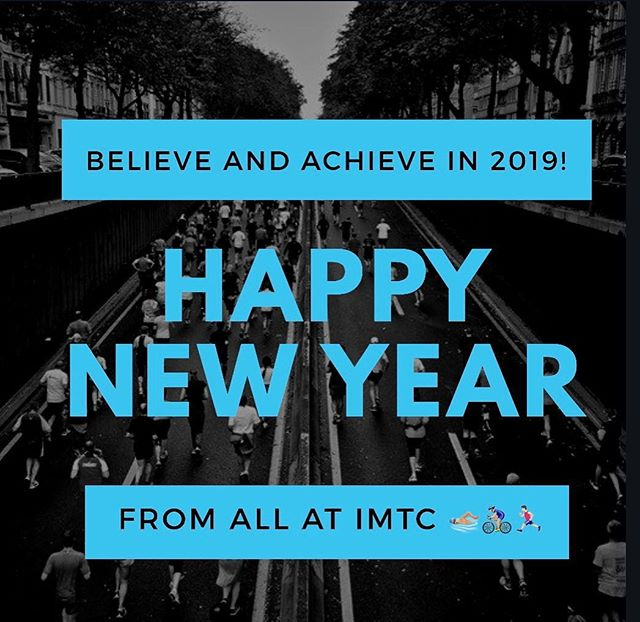 Happy New Year to all IMTC's friends and athletes! May 2019 be the year all your goals and dreams become reality 💪🏼🎉🏊🏼‍♂️🚴🏼‍♂️🏃🏻‍♂️ #happynewyear #2019 #herewego #triathlon #triathlontraining #swimbikerun #believeandachieve #imtc #imtccoaching