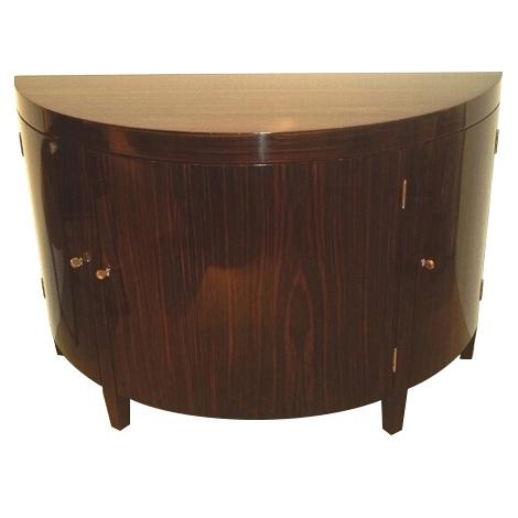 102 U2013 Custom Semi Circle Cabinet